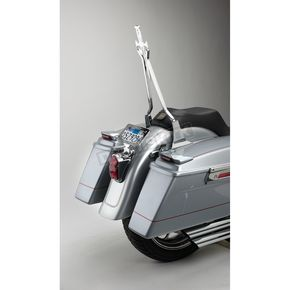 Cycle Visions Chrome 18 in. Daggertude Wide Sissy Bar Stick - CV-8010