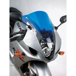 Zero Gravity Dark Blue Double Bubble Windshield - 16-107-04
