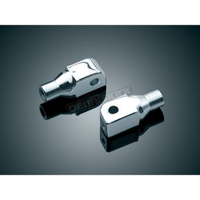 Chrome Tapered Peg Adapters - 8802