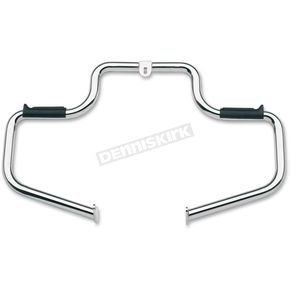 Lindby Custom The Multibar Chrome Highway Bar/Rubber Footrests - 13602