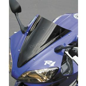 Zero Gravity Dark Smoke Double Bubble Windshield - 16-454-19