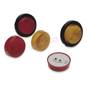 Wesbar Red Round 2 in. Marker and Clearance Light for Trailers - 003381