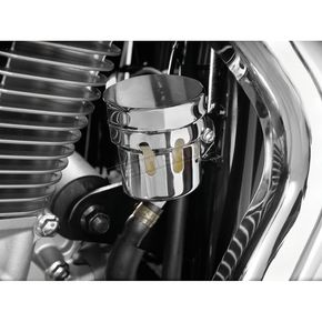 Show Chrome Rear Brake Reservoir Cover - 55-111