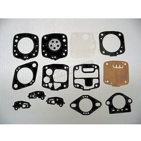 Carburetor Diaphragm and Gasket Kit for Walbro Carbs - 451410