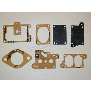 Parts Unlimited Carburetor Diaphragm and Gasket Kit for Walbro WF (Floater) Carbs - 410A
