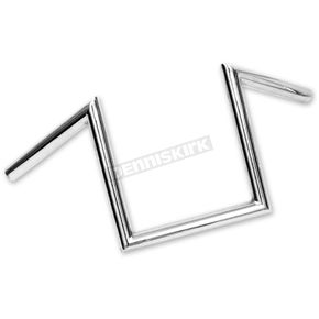 Paughco Chrome 1 in. Z Handlebar - 327-1X9