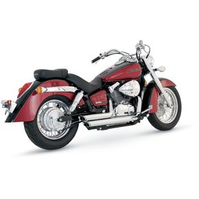 Vance & Hines Shortshots Staggered Exhaust - 18519