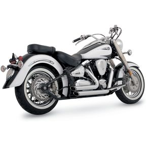 Vance & Hines Shortshots Staggered Exhaust - 18517