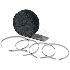 Black High-Temperature Exhaust Wrap Kit - 2002BK