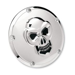 Drag Specialties 3-D Skull Derby Cover - 1902-0061