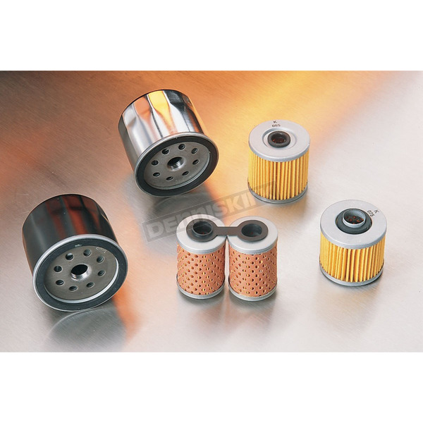 Drag Specialties Chrome Spin-On Oil Filter - DS-275108