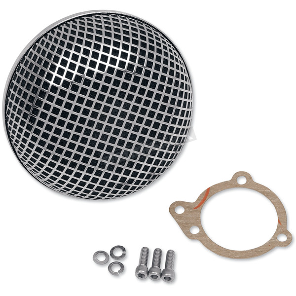 Drag Specialties BOB Retro-Style Air Cleaner - 1010-0191