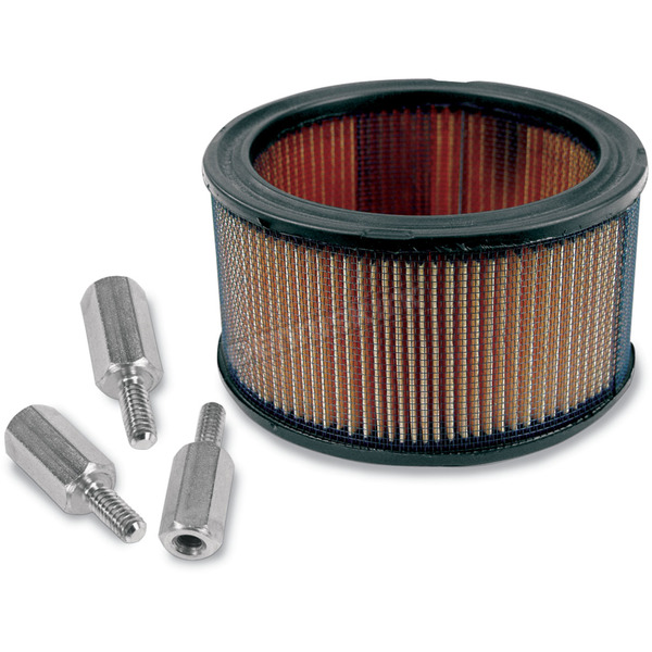 S&S Cycle High Flow Air Filter and Adaptor Kit - 17-0045