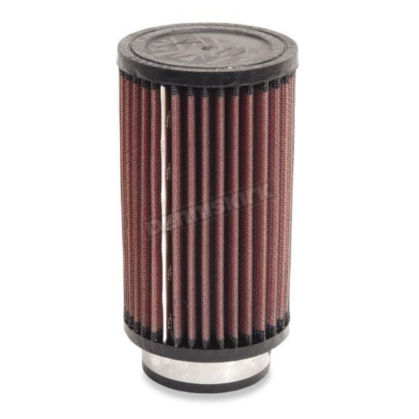 K & N Universal Round/Straight Clamp-On Filter - 3 1/2 in. Diameter x 6 in. Long - RD-0720
