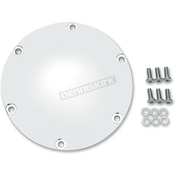 Drag Specialties Chrome 6-Hole Derby Cover - 1107-0006