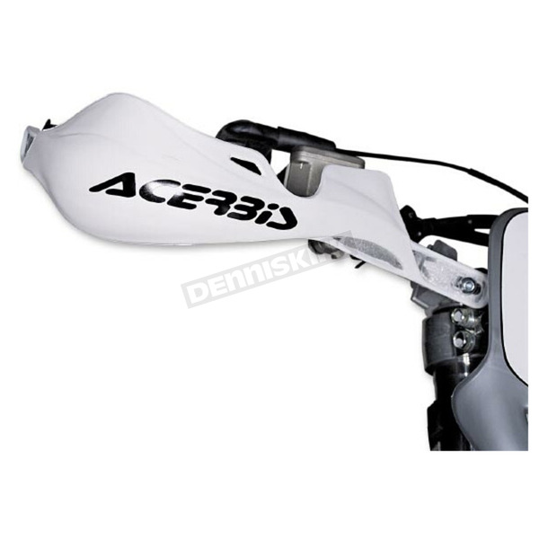 Acerbis Rally Pro White Handguards - 2142000002
