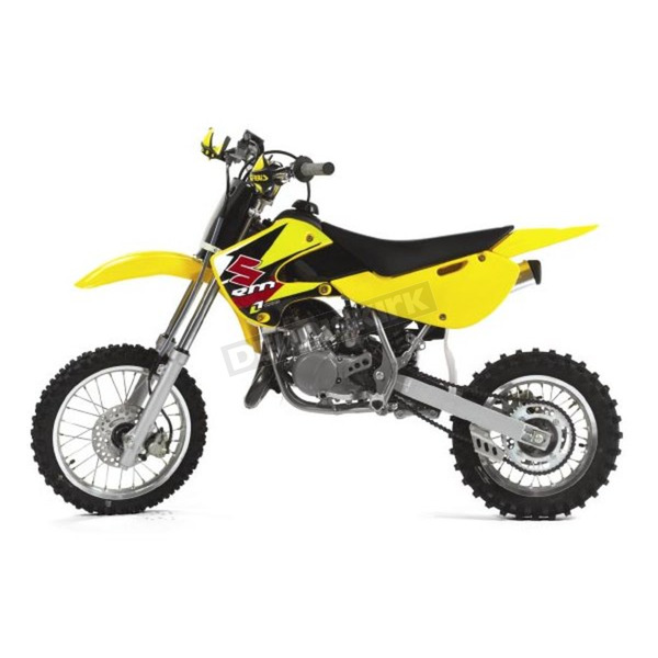 Acerbis 03 RM Yellow Rear Fender - 2040770231