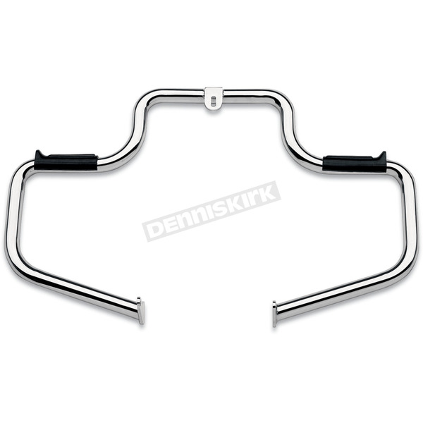 Lindby Custom The Multibar Chrome Highway Bar w/Rubber Footrests - 1302/09