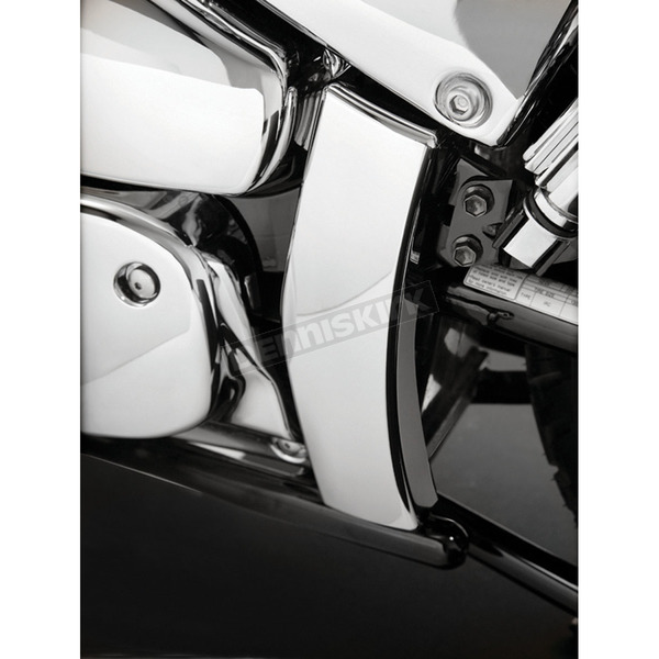 Show Chrome Swingarm Pivot Covers - 82-216