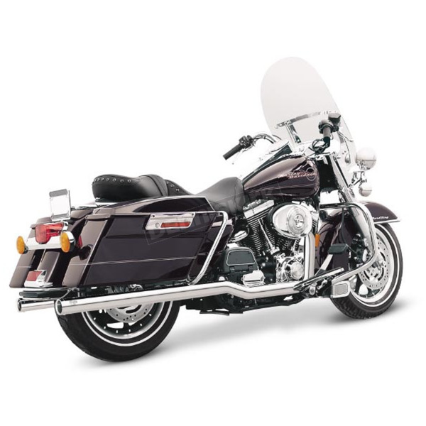 Vance & Hines Chrome Big Shot Duals Exhaust System - 17917