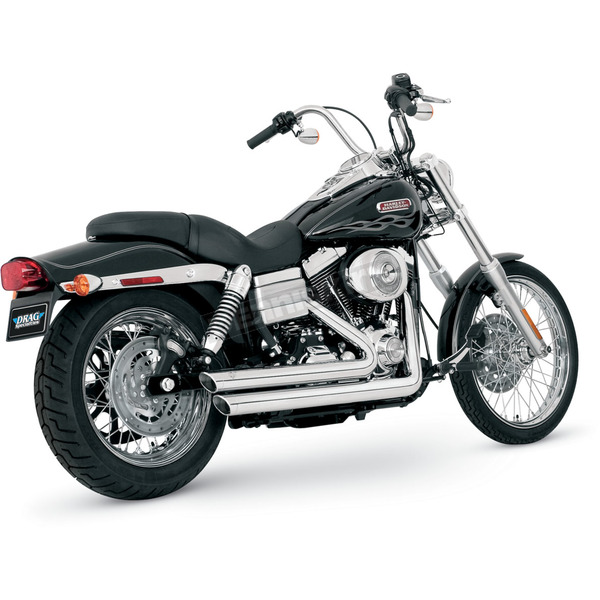 Vance & Hines Big Shots Staggered Exhaust System - 17919