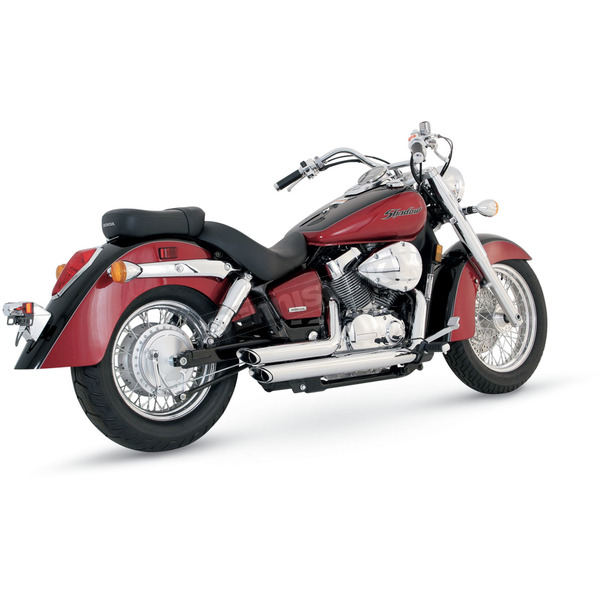 Vance & Hines Shortshots Staggered Exhaust - 18419