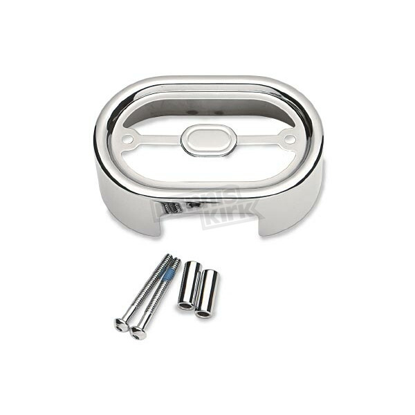Drag Specialties Chrome Regulator Cover - 1902-0398