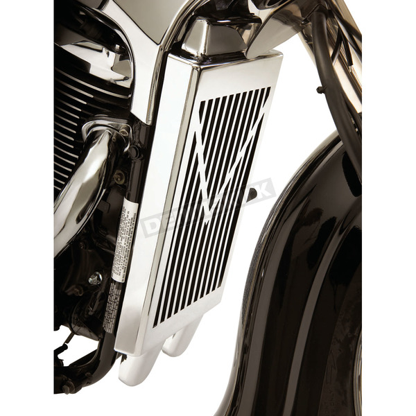 Show Chrome V-Style Radiator Grille - 82-207A