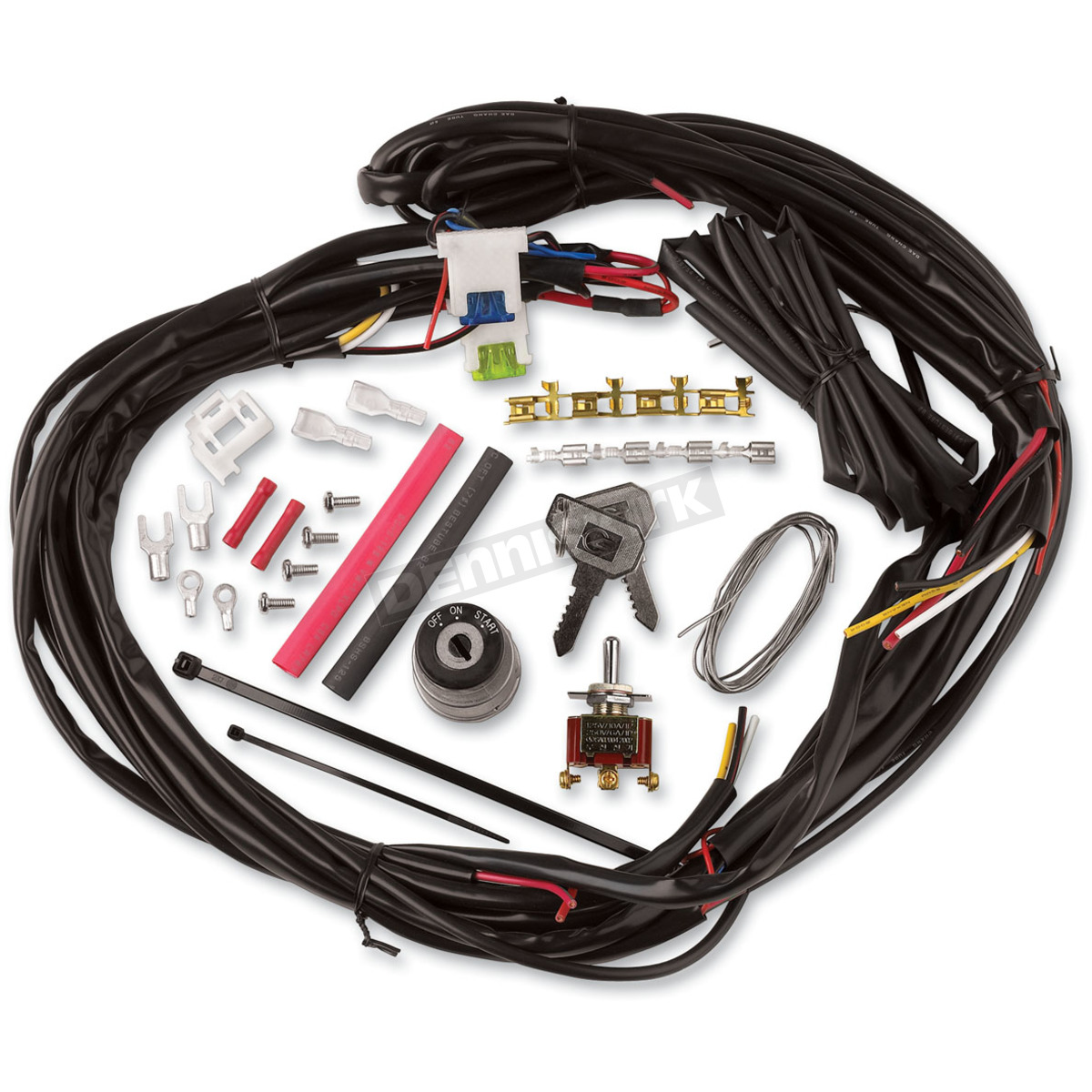 custom wiring harness ls conversion cycle visions custom chopper wire harness - cv-4869 harley ...