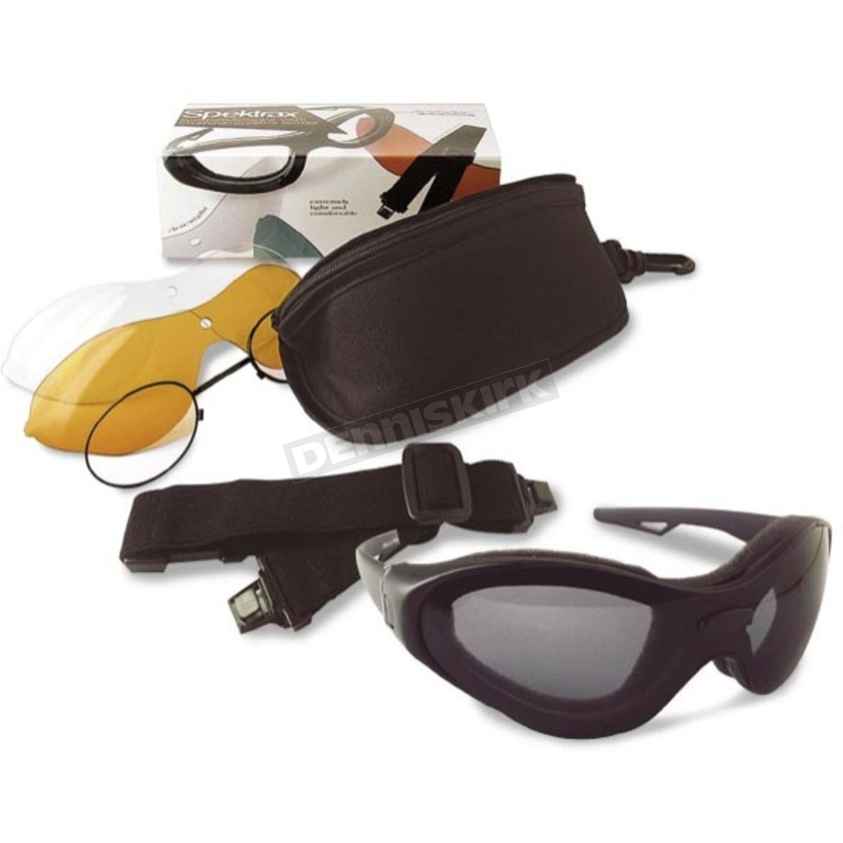 1a6801b8333 Bobster SpekTrax Sunglasses Goggles - BSTT0C1AC Harley Motorcycle ...