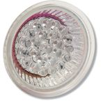 Large Red LED Retrofit Bulb for Vizor Lights - V16R
