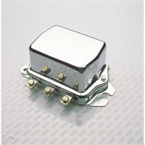 Accel OEM Type 12V Chrome Voltage Regulator - 201105C
