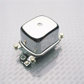 Accel OEM Type 12V Chrome Voltage Regulator - 201107C