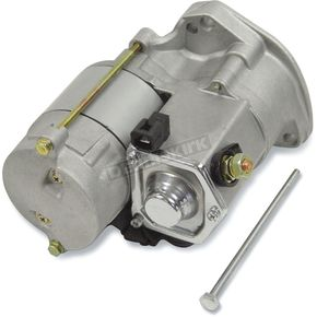 Mid USA Power House Starter 1.4 KW - Natural Gray Case Finish w/Chrome Solenoid Cover - 17077