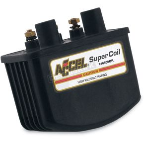Accel Black HEI Super Coil Kit for Single-Fire w/Electronic Ignition - 3.0 ohm - 140408BK