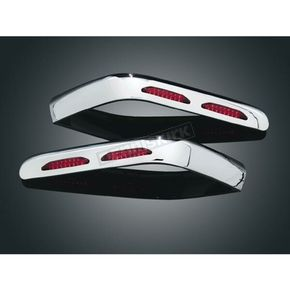 Kuryakyn Lighted Saddlebag Moldings - 3202