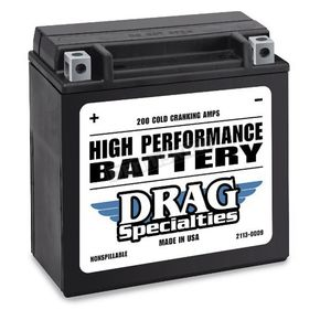 Drag Specialties 12-Volt Battery - 2113-0009