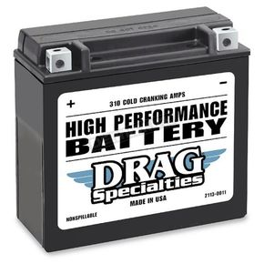 Drag Specialties 12-Volt Battery - 2113-0011
