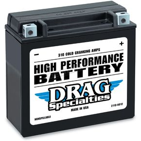 Drag Specialties 12-Volt Battery - 2113-0012