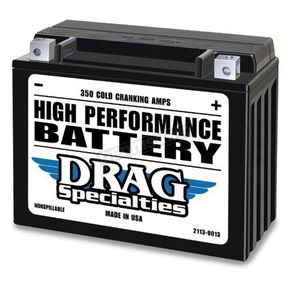 Drag Specialties 12-Volt Battery - 2113-0013