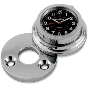 Formotion Road King Fork Lock Clock w/Swivel Fork Lock Cover - RKC30720