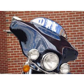 Drag Specialties Chrome 6 in. Windscreen - 2310-0168