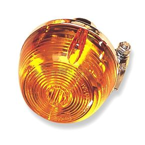 Front Left/Right Turn Signal Assembly W/Amber Lens - 25-1045