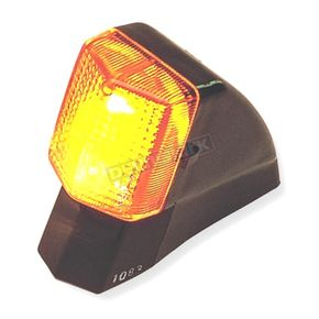 K & S Rear Right Turn Signal Assembly W/Amber Lens - 25-1083