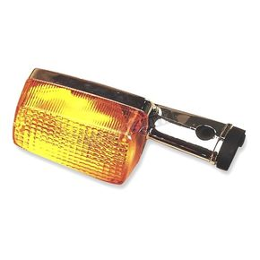 K & S Rear Left/Right Turn Signal Assembly W/Amber Lens - 25-1096