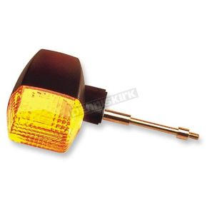 K & S Front Left/Right Turn Signal Assembly W/Amber Lens - 25-2055