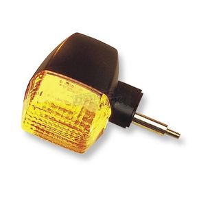 K & S Front Left/Right Turn Signal Assembly W/Amber Lens - 25-2085