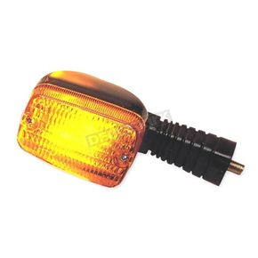 K & S Front Left/Right Turn Signal Assembly W/Amber Lens - 25-3055