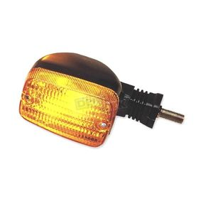 K & S Rear Left/Right Turn Signal Assembly W/Amber Lens - 25-3056