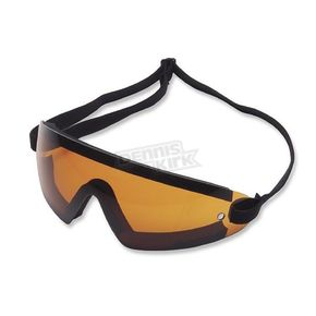 Bobster Wrap Goggles w/Amber Lens - BW201A